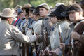 Moorpark Civil War Reenactment Stock Photography