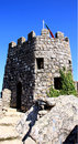 Moors castle defensive tower famous moorish Royalty Free Stock Images