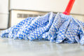 Mop closeup - chores Royalty Free Stock Photo