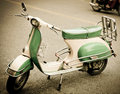 Moped Royalty Free Stock Photography
