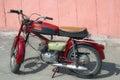 Moped Royalty Free Stock Photo