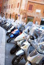 Mopeds Royalty Free Stock Photo
