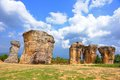 Mor hin khao thailand the stone henge of at chaiyaphum province Stock Photo