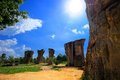 Mor hin khao thailand the stone henge of at chaiyaphum province Stock Image