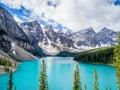 Moraine lake, Banff Royalty Free Stock Photo
