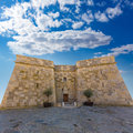 Moraira Castle in teulada beach at  Alicante Royalty Free Stock Photo
