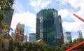 Morden building in Dallas Royalty Free Stock Photo