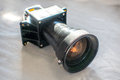 Mordern projector taken apart Royalty Free Stock Photo