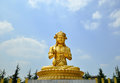 More than about years ago china xian famen temple of buddh buddha Royalty Free Stock Photography