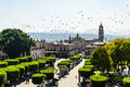 Morelia town square Royalty Free Stock Photo