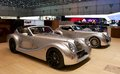 Morgan aero supersport geneva motor show Royalty Free Stock Photography