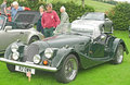 Morgan Classic Sports car. Stock Photography