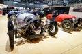 Morgan design car motor show geneva at the th international in palexpo switzerland photo taken on march th Stock Photos