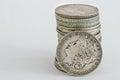 1896 Morgan Dollar coin Royalty Free Stock Photo