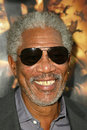 Morgan freeman with daughter morgana and granddaughter alexis at the world premiere of warner bros batman begins chinese theater Stock Image