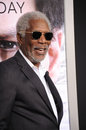 Morgan freeman los angeles ca april at the los angeles premiere of his movie transcendence at the regency village theatre westwood Royalty Free Stock Images