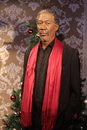 Morgan freeman wax statue at madame tussauds in london Stock Photos