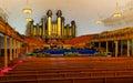 Mormon tabernacle Stock Image