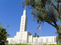 Mormon Temple, Los Angeles Royalty Free Stock Photo