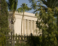 Mormon Temple in Mesa Arizona Stock Photo