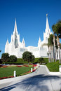 Mormons Temple Royalty Free Stock Photography
