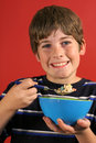 Morning breakfast cereal Royalty Free Stock Photo