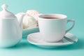 Morning caffee scene Royalty Free Stock Photo