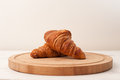 Morning croissants Royalty Free Stock Image