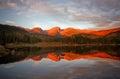 Morning Glow on Sprague Lake