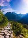 Morning in High Tatras, Slovakia