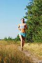Morning jogging Royalty Free Stock Images