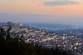 Morning lights at Croix-Rousse, Lyon, France Royalty Free Stock Photo