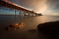 Morning at Mumbles pier Royalty Free Stock Photo