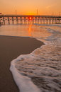 Morning at myrtle beach south carolina scenes Royalty Free Stock Image