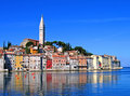 Morning in Rovinj, Croatia Royalty Free Stock Photo