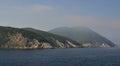 Morning seaview on Elba Island rocky cliffs Royalty Free Stock Photo