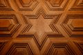 Moroccan arabesque carved wood Royalty Free Stock Photo