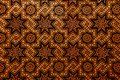 Moroccan arabesque carved wood wall Royalty Free Stock Photo