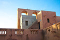 Moroccan architecture in mopti dogon land wonderful style the of the dogons Stock Image