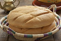 Moroccan bread fresh in a basket Royalty Free Stock Photo
