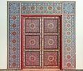 Moroccan door Royalty Free Stock Photo