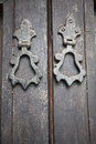 Moroccan door handles Royalty Free Stock Photos