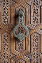 Moroccan Door Knocker Royalty Free Stock Photo