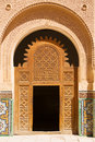 Moroccan entrance Stock Images