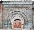 Moroccan gate historical city in marrakesh morocco Royalty Free Stock Photography