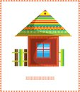Moroccan house A Royalty Free Stock Images