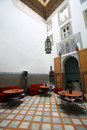 Moroccan indoor architecture Royalty Free Stock Photos