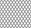 Moroccan islamic seamless pattern background in black and white. Vintage and retro abstract ornamental design. Simple Royalty Free Stock Photo