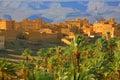 Moroccan ksar Royalty Free Stock Photo