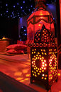 Moroccan lanterns Royalty Free Stock Images